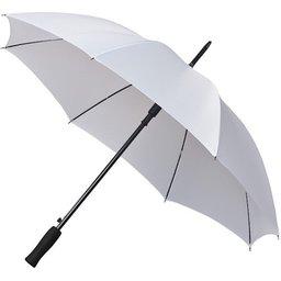 Bedrukte paraplu wit