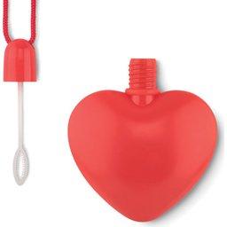 Bellenblaas in hartvorm
