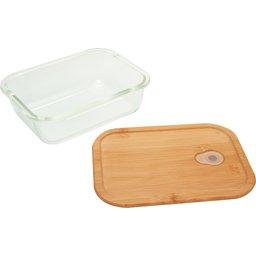 Bento lunchbox van Borosilicaatglas