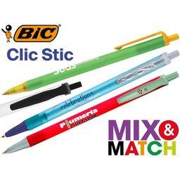 Bic Clic Stic balpen samenstellen