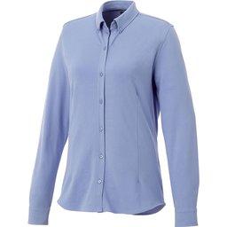 Bigelow piqué dames blouse