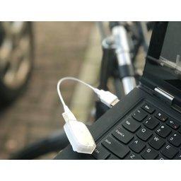 BikeLed USB opladen