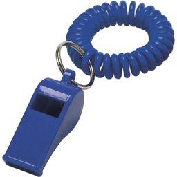 Blauw Fluitje polsband