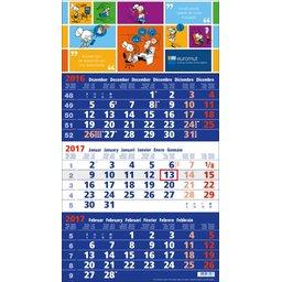kalender blauw