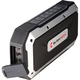 bluetooth speaker met logon2