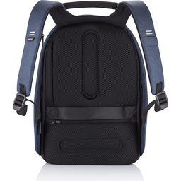Bobby Hero XL, anti-diefstal rugzak -donkerblauw achterzijde