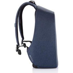 Bobby Hero XL, anti-diefstal rugzak -donkerblauw zijkant