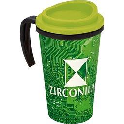 Brite-Americano® Grande Thermal Mug lime