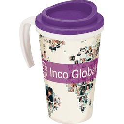 Brite-Americano® Grande Thermal Mug purple