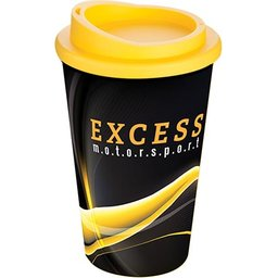 Brite-Americano® Grande Thermal Mug yellow