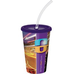 Brite Americano Stadium Cup purple