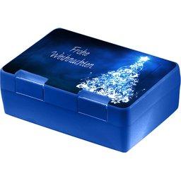 Brooddoos Dinerbox blauw