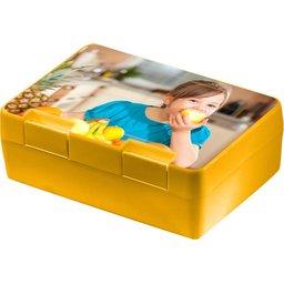Brooddoos Dinerbox geel