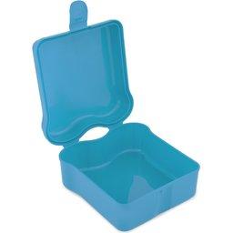 Broodtrommel Sandwich-blauw open