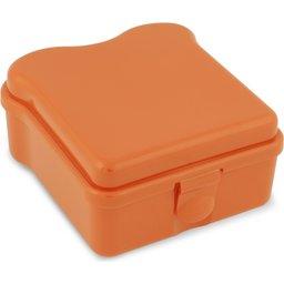 Broodtrommel Sandwich-oranje
