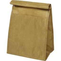 Bruine papieren koeltas