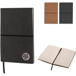Bulletjournal Recycled Leer A5-assortiment