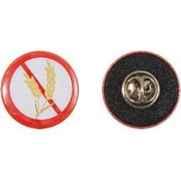 Button met pin en clutch bedrukken