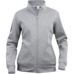 Cardigan sweater met rits bedrukken