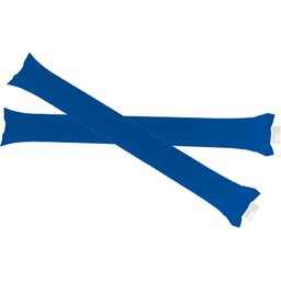 Cheering sticks stick Blanco blauw