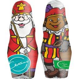 Chocolade in vorm van mini Sint of Piet