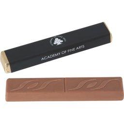Chocolade stick met karamelvulling bedrukken