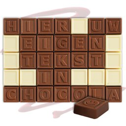 Chocotelegram 35 letters