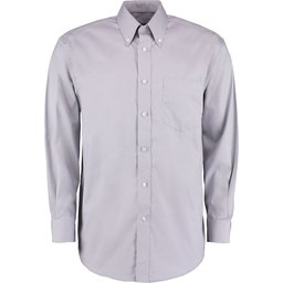 Classic Fit Corporate Oxford Shirt grijs
