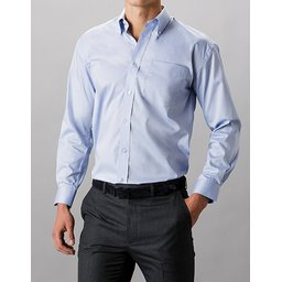 Classic Fit Corporate Oxford Shirt licht blauw