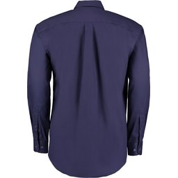 Classic Fit Corporate Oxford Shirt navy2