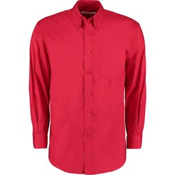 Classic Fit Corporate Oxford Shirt rood