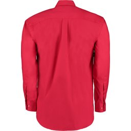 Classic Fit Corporate Oxford Shirt rood2