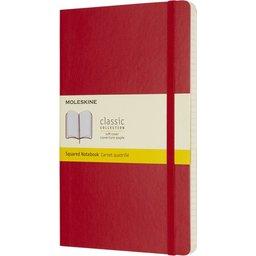 Classic Large soft cover notitieboek met ruitjes papier