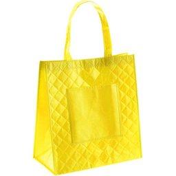Classy shopper geel bedrukken