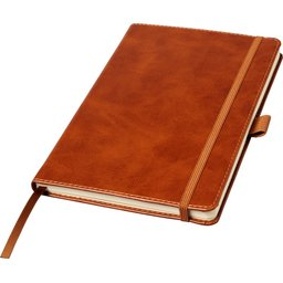 Coda A5 lederlook notitieboekje met harde kaft