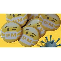 Corona buttons