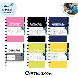 Correctbook - uitwisbare en herbruikbare notitieboek A5