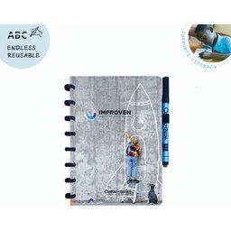 Correctbook - uitwisbare en herbruikbare notitieboek bedrukken