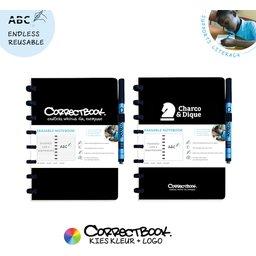 Correctbook - uitwisbare en herbruikbare notitieboek bedrukt