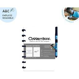 Correctbook - uitwisbare en herbruikbare notitieboek wit