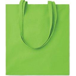 Cottonel Colour draagtas-lime