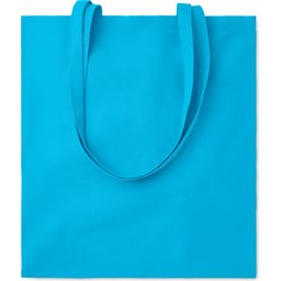Cottonel Colour draagtas-turquoise