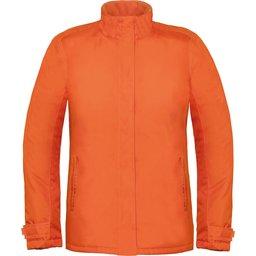 Dames winterjas Parka oranje