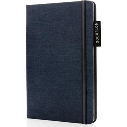 Deluxe A5 notitieboek denim