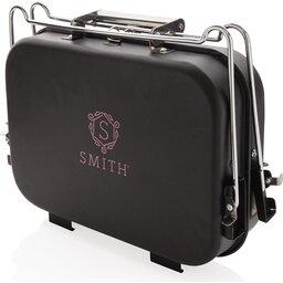 Deluxe draagbare barbecue in koffer-gepersonaliseerd