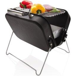 Deluxe draagbare barbecue in koffer-sfeerbeeld