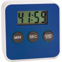 Digitale kookwekker timer blauw