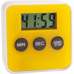 Digitale kookwekker timer geel