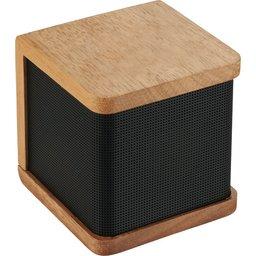 Draadloze houten luidspreker