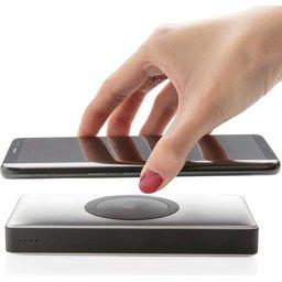 Draadloze lader met powerbank voor smartphone